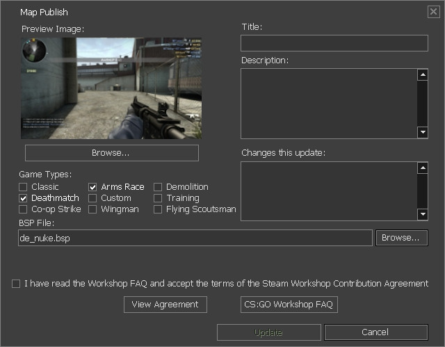 how to download workshop maps csgo