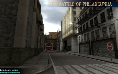 The Battle of Philadelphia Screen shot.