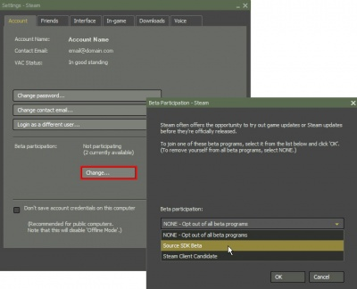 how to download betas in steam