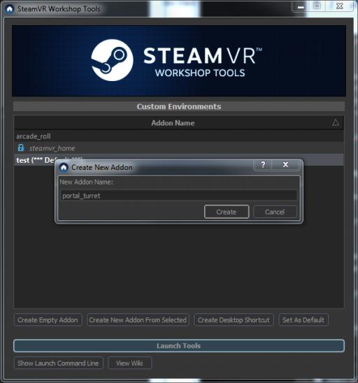 SteamVR/Environments/Importing Tutorial - Valve Developer Community