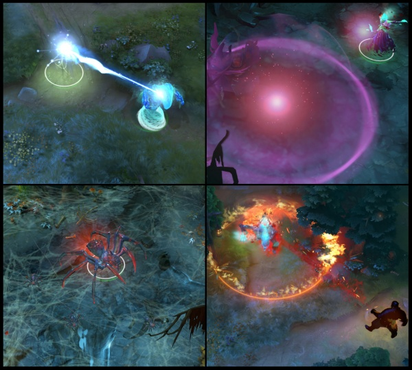 Particle effects from DOTA 2